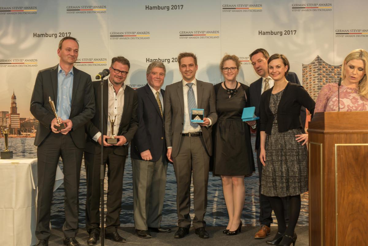 Die Deutsche Telekom gewinnt bei den 3. German Stevie Awards