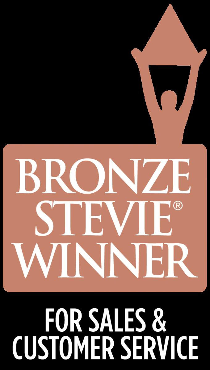 Bronze Stevie Winner 2016