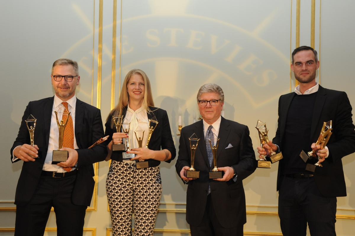 Crowdconsultants 360 bei der Preisverleihung der German Stevie Awards 2018