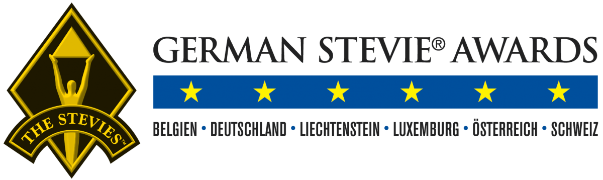 Das neue Logo der German Stevie Awards
