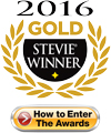 Gold Stevie Award Winner 2016, Click to Enter The 2017 Stevie Awards for Sales and Customer service