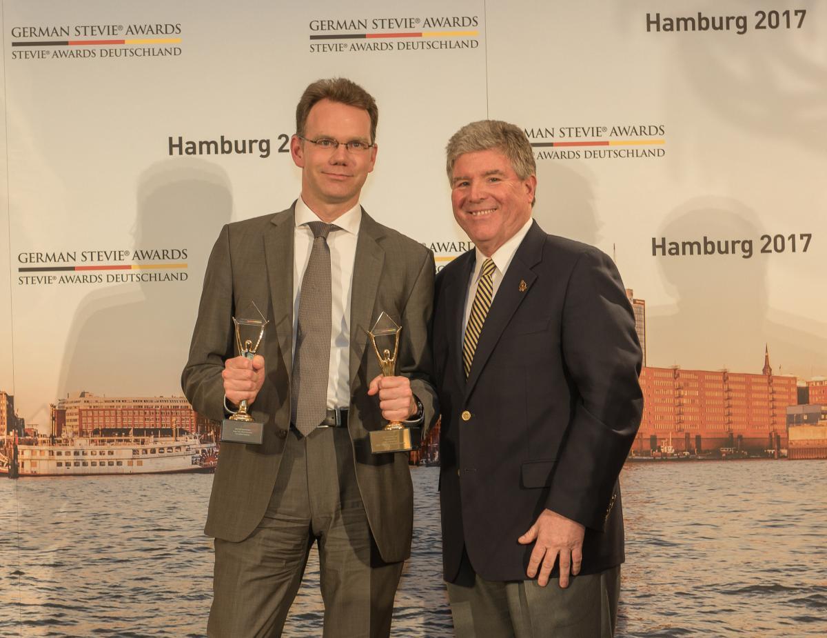 Weber Shandwick, Germany gewinnt bei den 3. German Stevie Awards