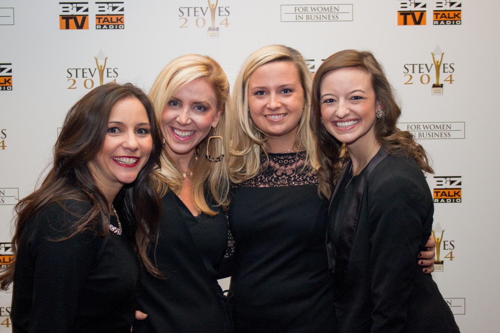 Siegerinnen der Stevie Awards for Women in Business 2014